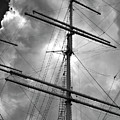 Tall Ship Masts by Robert Ullmann