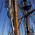 Tall Ship Rigging Lady Washington by Garry Gay