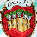 Tamales One Dollar by Heather Calderon