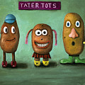 Tater Tots by Leah Saulnier The Painting Maniac