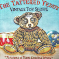 Tattered Teddy Toy Shop Sign Print by Randy Steele
