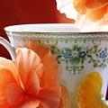 Tea In The Garden by Angela Davies
