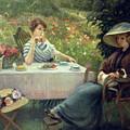 Tea Time by Jacques Jourdan