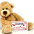Teddy Bear With Hug Coupon by Blink Images