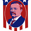 Teddy Roosevelt - Our President  by War Is Hell Store