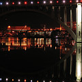 Tennessee River In Lights by Douglas Stucky