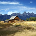 Teton Barn 3 by Marty Koch