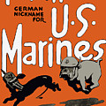 Teufel Hunden - German Nickname For Us Marines by War Is Hell Store