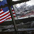 The American Flag Is Prominent Amongst by Stocktrek Images