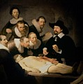 The Anatomy Lesson Of Doctor Nicolaes Tulp by Rembrandt Harmenszoon van Rijn
