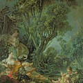 The Angler by Francois Boucher