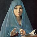 The Annunciation by Antonello da Messina