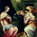 The Annunciation by Giorgio Vasari