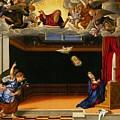 The Annunnciation by Girolamo da Santacroce