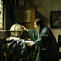 The Astronomer by Jan Vermeer