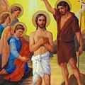 The Baptism Of Jesus Christ by Svitozar Nenyuk