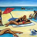 The Beach by Valerie Vescovi