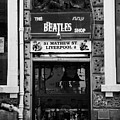 The Beatles Shop In Mathew Street In Liverpool City Centre Birthplace Of The Beatles Merseyside  by Joe Fox