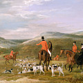 The Berkeley Hunt by Francis Calcraft Turner