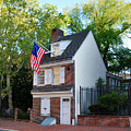 The Betsy Ross House Philadelphia by Bill Cannon