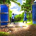 The Blue Gate by Bob Salo