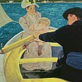 The Boating Party by Mary Stevenson Cassatt