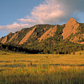The Boulder Flatirons by Jerry McElroy