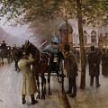 The Boulevards by Jean Beraud
