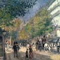 The Boulevards  by Pierre Auguste Renoir