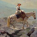 The Bridal Path by Winslow Homer