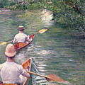 The Canoes by Gustave Caillebotte
