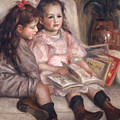 The Children Of Martial Caillebotte by Pierre Auguste Renoir