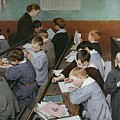 The Children's Class by Henri Jules Jean Geoffroy
