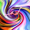 The Colorful Ballet Dress by Steve K