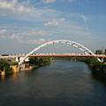 The Cumberland River In Nashville by Susanne Van Hulst