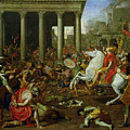 The Destruction Of The Temples In Jerusalem By Titus by Nicolas Poussin