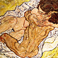 The Embrace by Egon Schiele