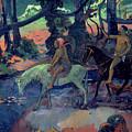 The Escape by Paul Gauguin
