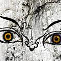 The Eyes Of Guru Rimpoche  by Fabrizio Troiani