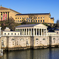 The Fairmount Water Works And Art Museum by John Greim