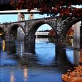 The Five Bridges - East Falls - Philadelphia by Bill Cannon