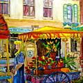 The Flowercart by Carole Spandau