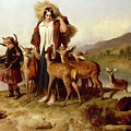 The Forester's Family by Sir Edwin Landseer