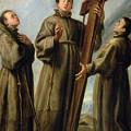 The Franciscan Martyrs In Japan by Don Juan Carreno de Miranda