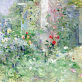 The Garden At Bougival by Berthe Morisot