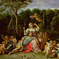 The Garden Of Armida by David the younger Teniers