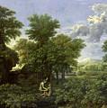 The Garden Of Eden by Nicolas Poussin