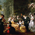 The Garden Of Love by Peter Paul Rubens