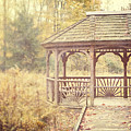 The Gazebo In The Woods by Lisa Russo