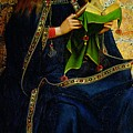 The Ghent Altarpiece The Virgin Mary by Jan and Hubert Van Eyck